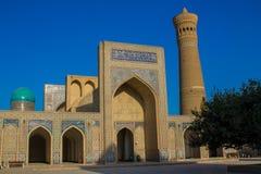 Ciudad hermosa de Uzbekistán de los monumentos arquitectónicos de Samarkand y de Bukhara fotografía de archivo