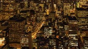 Ciudad hermosa en New York City, Manhattan fotos de archivo libres de regalías