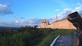 Ciudad hermosa Vladimir de Rusia fotografía de archivo