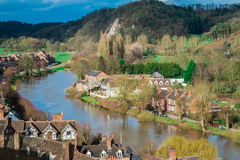 Ciudad histórica de Bridgnorth Imagen de archivo libre de regalías