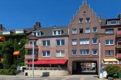 Ciudad histórica de Emmerich en el nrw Alemania del río Rhine Imagen de archivo libre de regalías