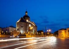 Ciudad histórica de Kamyanets-Podolsky del distrito. Imágenes de archivo libres de regalías