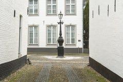 Ciudad histórica de la espina conocida para sus casas blancas Imagen de archivo