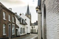 Ciudad histórica de la espina conocida para sus casas blancas Imagen de archivo libre de regalías