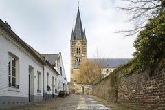Ciudad histórica de la espina conocida para sus casas blancas Fotos de archivo libres de regalías