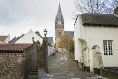 Ciudad histórica de la espina conocida para sus casas blancas Fotografía de archivo libre de regalías