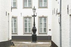 Ciudad histórica de la espina conocida para sus casas blancas Fotos de archivo