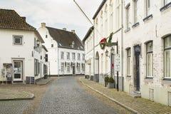 Ciudad histórica de la espina conocida para sus casas blancas Foto de archivo