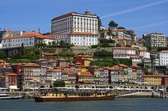 Ciudad histórica de Oporto, Portugal imagen de archivo