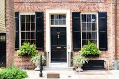 Ciudad histórica del centro de la ciudad de Charleston Imagen de archivo libre de regalías