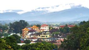 Ciudad histórica en ciudad del kengtun Fotos de archivo