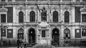 Ciudad histórica y cultural de avisos de España Foto de archivo