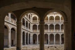 Ciudad histórica y cultural de avisos de España Foto de archivo libre de regalías