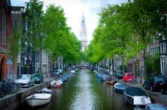 Ciudad Holland Europe de Amsterdam del viaje Foto de archivo libre de regalías