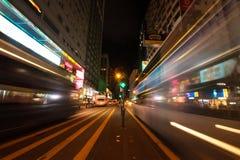 Ciudad Hong Kong Imagen de archivo libre de regalías