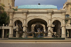 Ciudad/hotel perdidos de Sun City, Suráfrica Imágenes de archivo libres de regalías