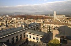 Ciudad II de Girona Foto de archivo