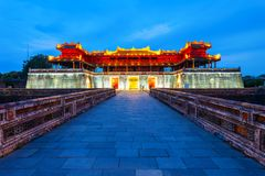 Ciudad imperial en tonalidad, Vietnam fotografía de archivo libre de regalías