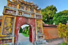 Ciudad imperial Hué Vietnam fotografía de archivo libre de regalías