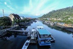 Ciudad Indonesia de Padang Fotos de archivo libres de regalías