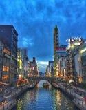 Ciudad inJapan Fotos de archivo libres de regalías