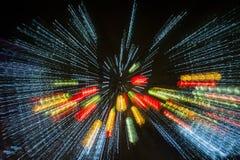 Ciudad internacional 2016 del carnaval de la linterna mágica de Shangai de la luz Imagen de archivo
