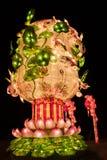 Ciudad internacional 2016 del carnaval de la linterna mágica de Shangai de la luz Imagenes de archivo