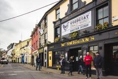 Ciudad Irlanda de Galway Imagenes de archivo