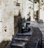 Ciudad Italia de la calle de Matera Imagen de archivo