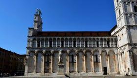 Ciudad Italia de Lucca Fotografía de archivo libre de regalías