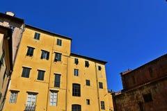 Ciudad Italia de Lucca Imagen de archivo libre de regalías