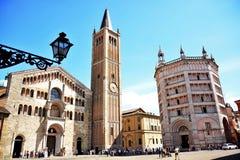 Ciudad Italia de Parma Foto de archivo libre de regalías