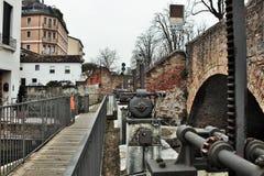 Ciudad Italia de Treviso fotos de archivo