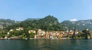 Ciudad Italia de Varenna Imágenes de archivo libres de regalías