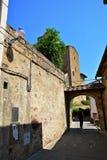 Ciudad Italia de Vinci Imagen de archivo libre de regalías
