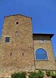 Ciudad Italia de Vinci Imagenes de archivo