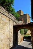 Ciudad Italia de Vinci Foto de archivo libre de regalías