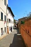 Ciudad Italia de Vinci Imágenes de archivo libres de regalías