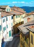 Ciudad italiana imagen de archivo