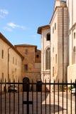 Ciudad italiana de Assisi, monasterio de st Francisco Imagenes de archivo