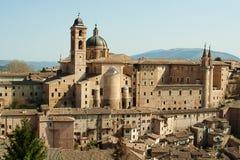 Ciudad italiana Urbino Foto de archivo libre de regalías