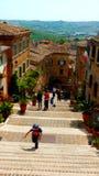 Ciudad italiana vieja Fotos de archivo