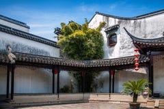 Ciudad Jiayin Tang de Tongli de la ciudad de Wujiang fotos de archivo