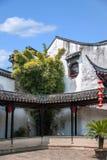 Ciudad Jiayin Tang de Tongli de la ciudad de Wujiang foto de archivo libre de regalías