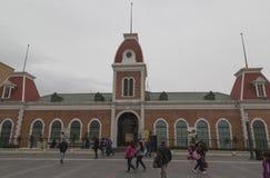 CIUDAD JUAREZ-CHIHUAHUA-MEXICO-MARCH-2019: O museu MUREF por seus acr?nimos, toca no tema principal da hist?ria desta cidade foto de stock royalty free