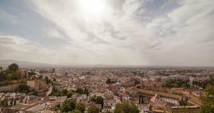 Ciudad 5K de Granada almacen de video