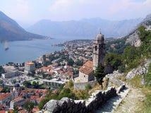 Ciudad Kotor de Montenegro Fotos de archivo libres de regalías