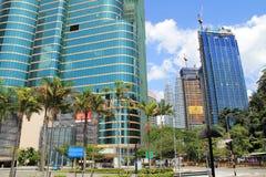 Ciudad Kuala Lumpur Dang Wangi Fotografía de archivo libre de regalías