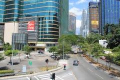 Ciudad Kuala Lumpur Dang Wangi Imagen de archivo