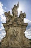 Ciudad Kutna Hora, República Checa del onn de la estatua foto de archivo